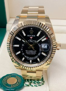 Rolex Sky-Dweller 326938 Yellow Gold Unworn
