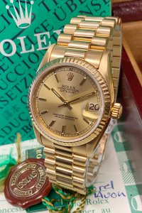 Rolex Datejust 68278 31mm Yellow Gold