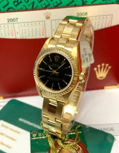 Rolex Oyster Perpetual 24mm 76198 Yellow Gold