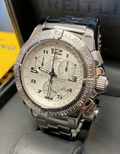 Breitling Emergency Mission A73322 White Dial
