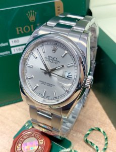 Rolex Datejust 116200 36mm Silver Dial