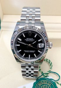 Rolex Datejust 31 178274 Black Dial