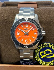Breitling Superocean 36 A17316 Orange