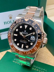 Rolex GMT Master II 126711CHNR Bi/Colour