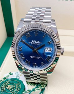 Rolex Datejust 41mm 126334 Blue Dial