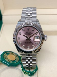 Rolex Datejust 28mm 279174 Pink Diamond