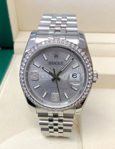 Rolex Datejust 36mm 116244 Diamond Bezel