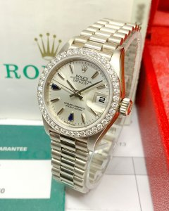 Rolex Datejust Lady 69139 26mm White Gold