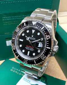 Rolex Sea-Dweller 126600 Red Writing Unworn