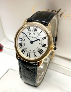 Cartier Ronde Solo W6700355 Yellow Gold 29mm