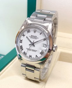 Rolex Datejust 31mm 68240 White Dial