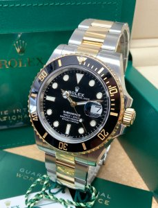 Rolex Submariner Date 126613LN Bi/Colour