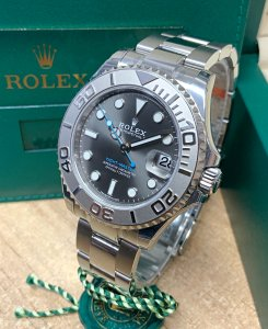 Rolex Yacht-Master 37 268622 Slate Dial