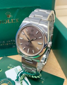 Rolex Oyster Perpetual 34 124200 Pink Dial