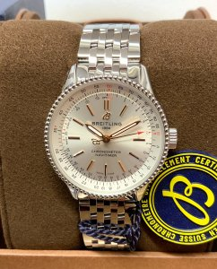 Breitling Navitimer 35 A17395 Silver Dial