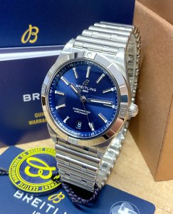 Breitling Chronomat Automatic 36 A10380 Blue