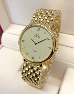 Omega De Ville 7100.63.00 32mm Yellow Gold