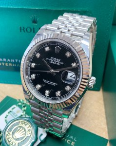 Rolex Datejust 41mm 126334 Black Diamond