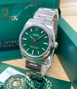 Rolex Oyster Perpetual 31 277200 Green