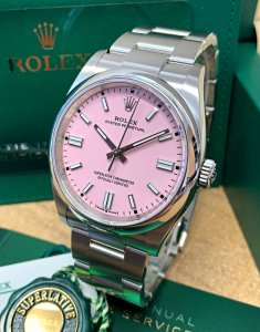 Rolex Oyster Perpetual 36 126000 Candy Pink
