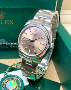 Rolex Oyster Perpetual 31 277200 pink