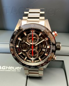 Tag Heuer Carrera CAR201V Stainless Steel