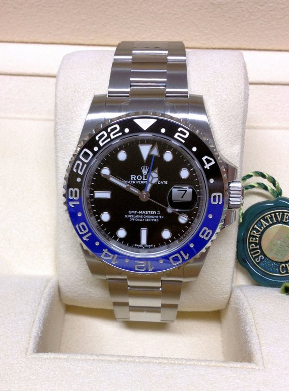 Gmt 116710blnr Ii Master Rolex Batman