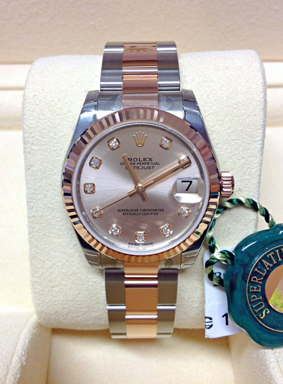 Rolex Datejust 178271 31mm Pink Diamond