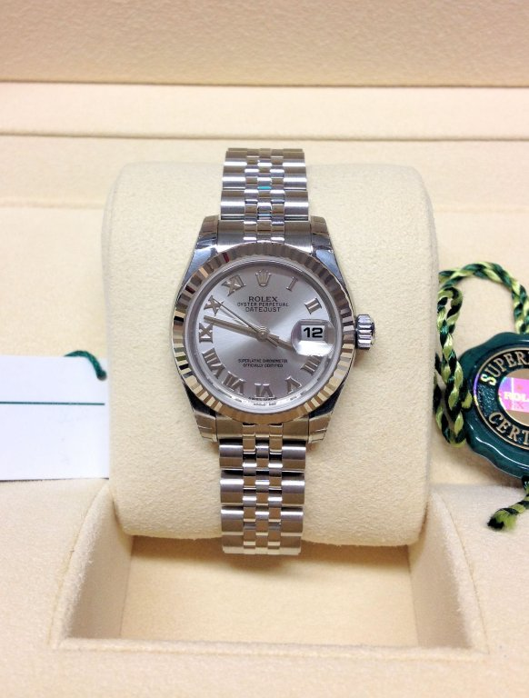 Rolex Datejust Lady 179174 26mm Silver Dial