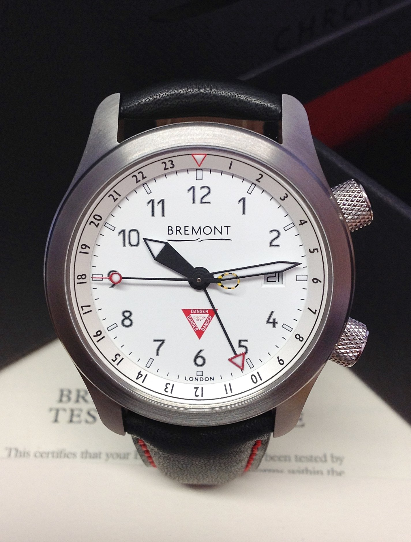 Bremont Martin Baker III MBIII/WH/LE 10th Anniversary