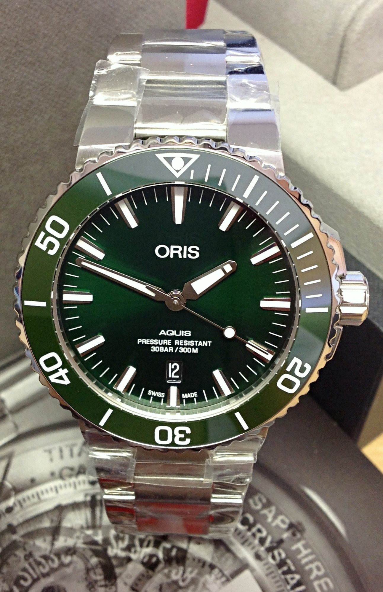 55b0b5c29b1 Oris Aquis Date 01 733 7730 4157 Green