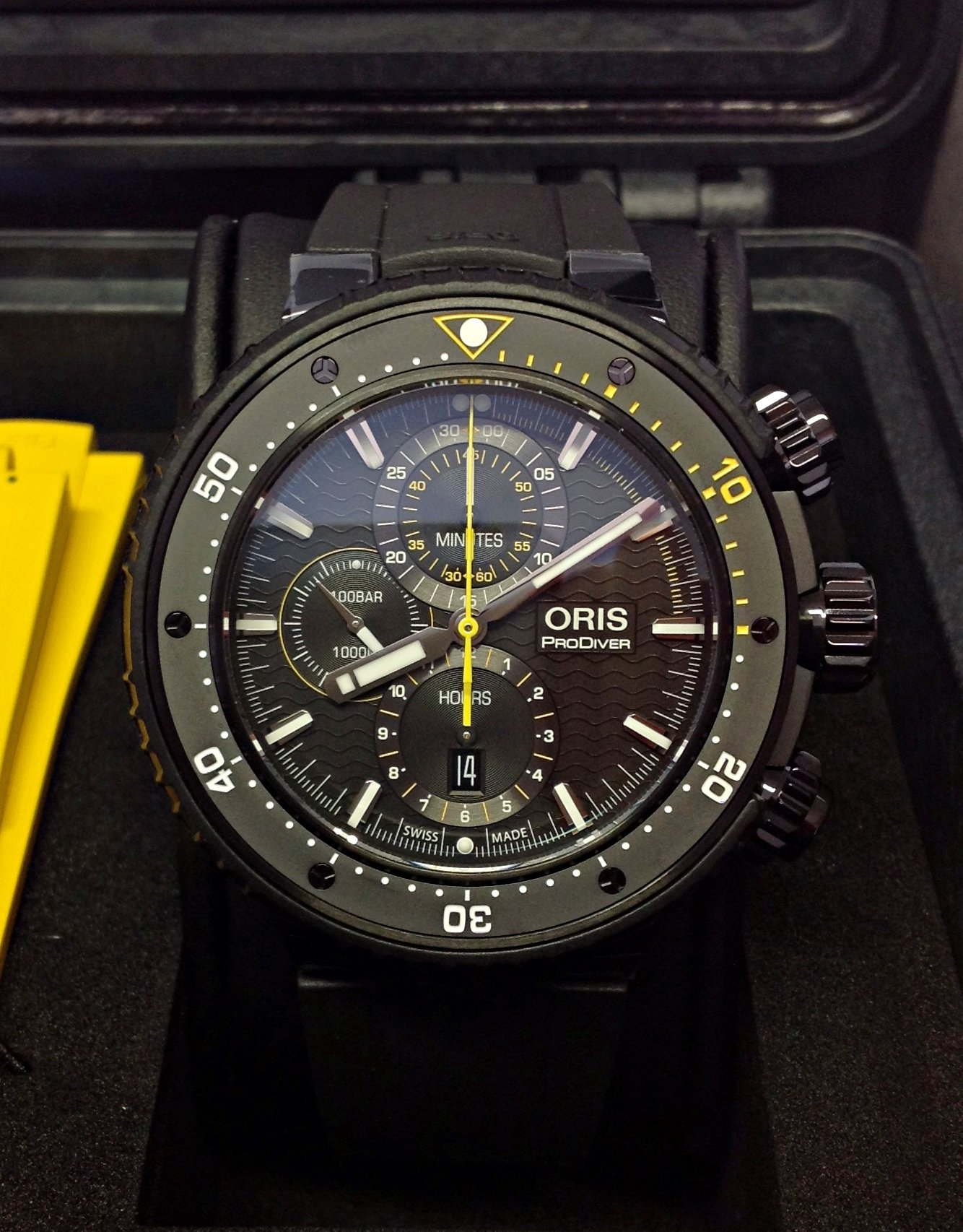 Oris Dive Control Limited Edition 01 774 7727 7784