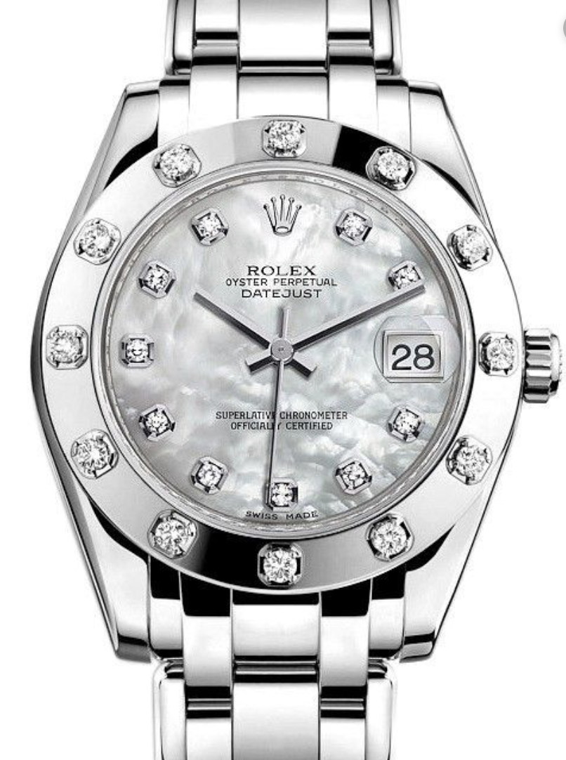 Rolex Pearlmaster 34mm 81319 White Gold