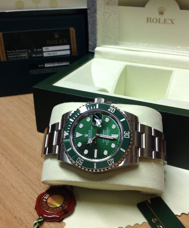 Rolex Submariner Date Green Ceramic 116610LV Unworn From 2012