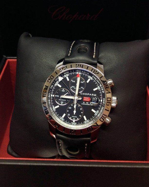 b6f3a4859e58d Chopard Mille Miglia GMT 168992-3001 42mm Black