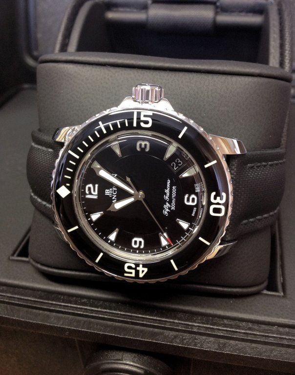 Blancpain 50 Fathoms Black Dial 5015 1130 52