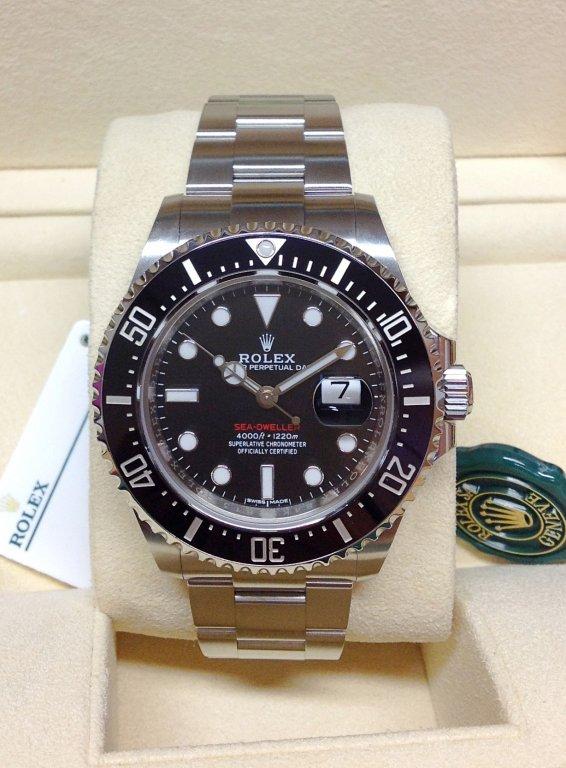 Rolex Sea Dweller 126600 43mm Red Writing