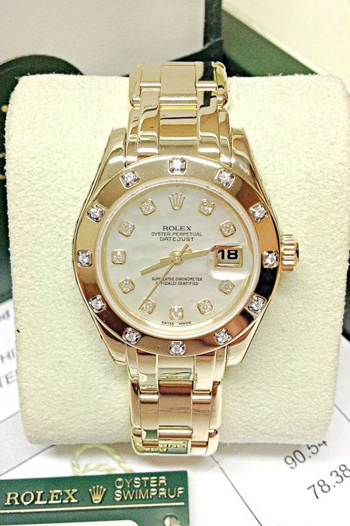 Rolex Pearlmaster 29mm 80318 Yellow Gold