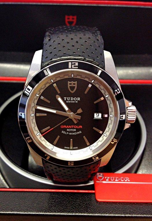 6bd3859c815 Tudor Grantour 20500N Black Dial 42mm