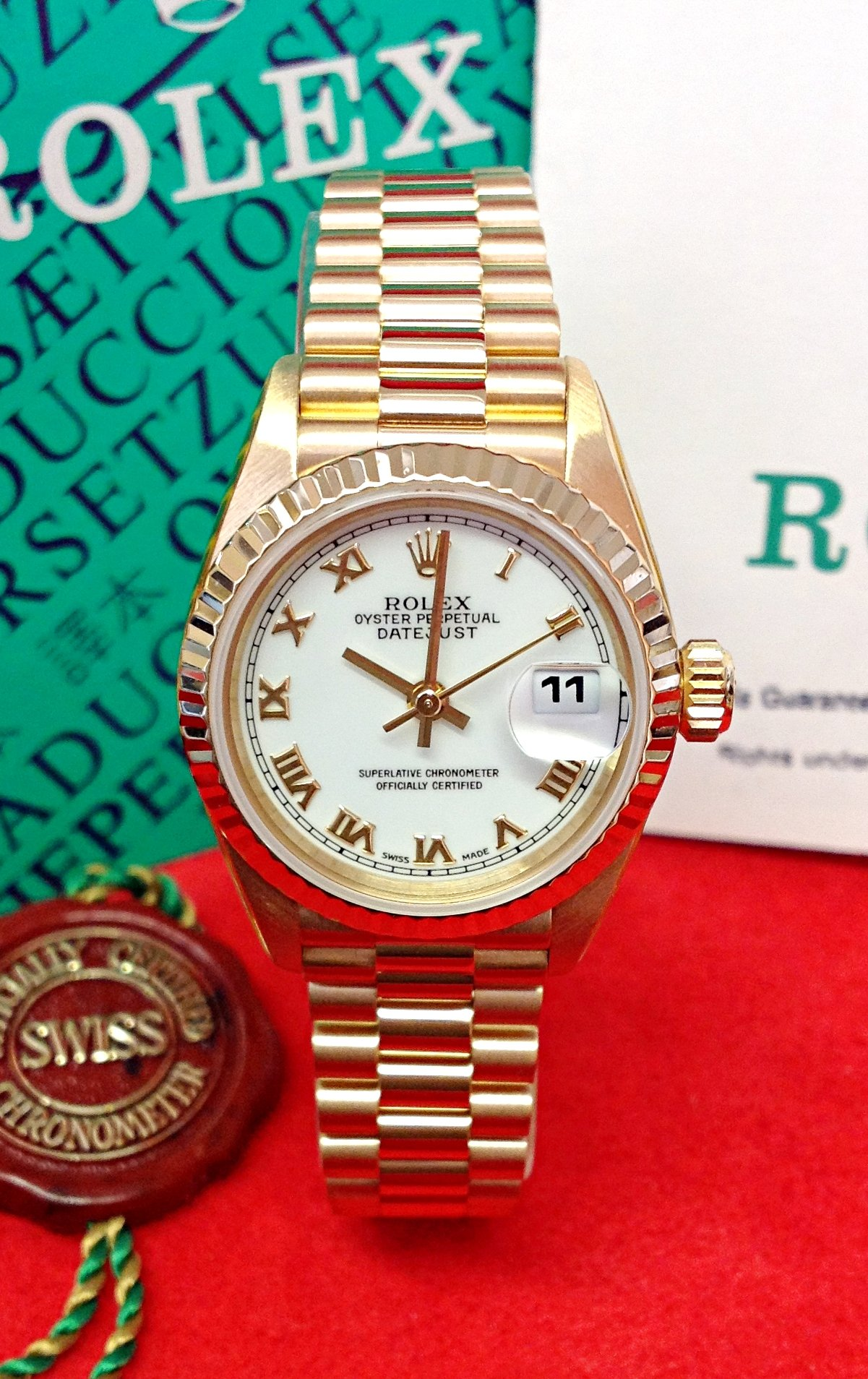 Rolex Datejust 26mm 79178 Yellow Gold