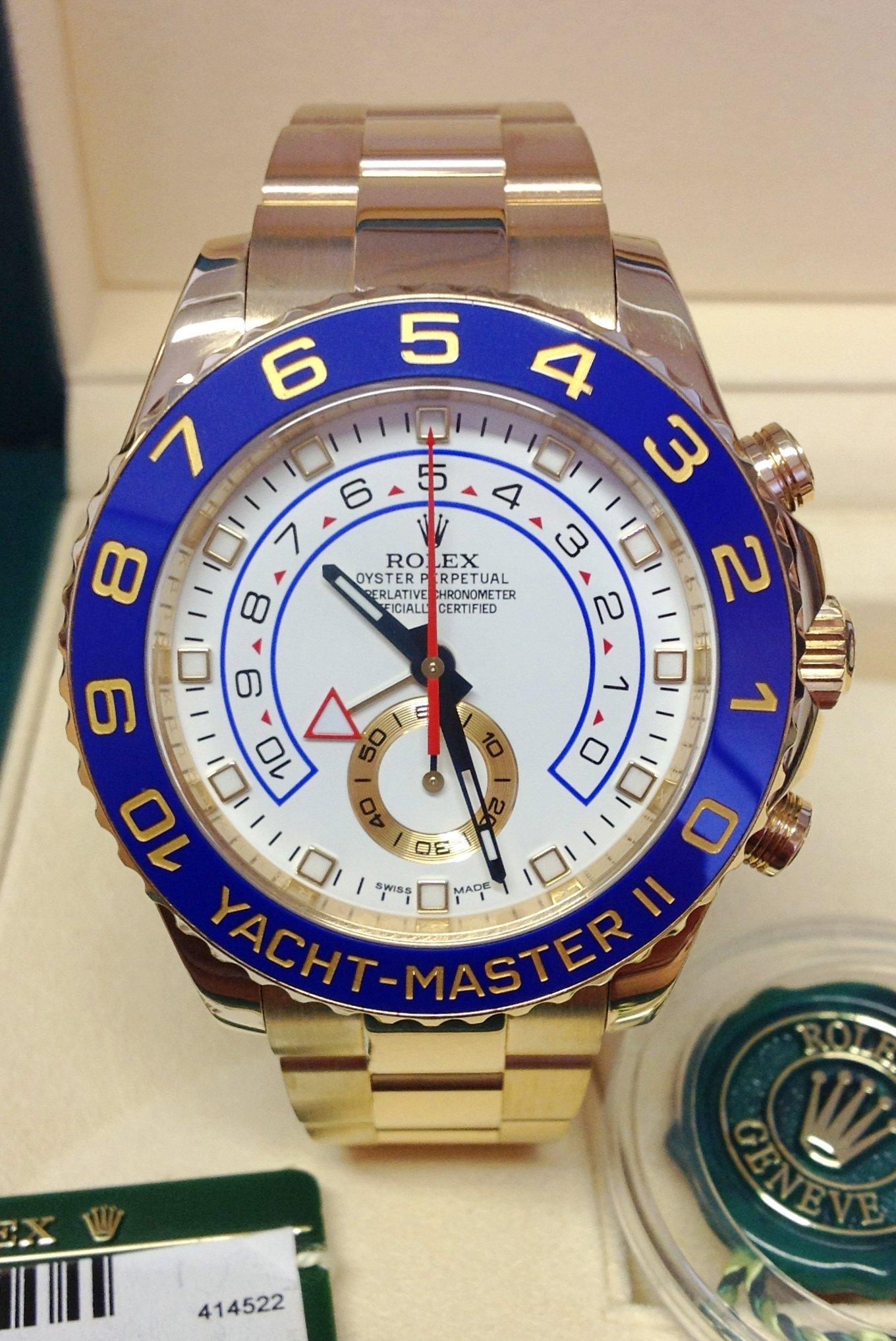 Rolex Yacht-Master II 116688 Yellow Gold