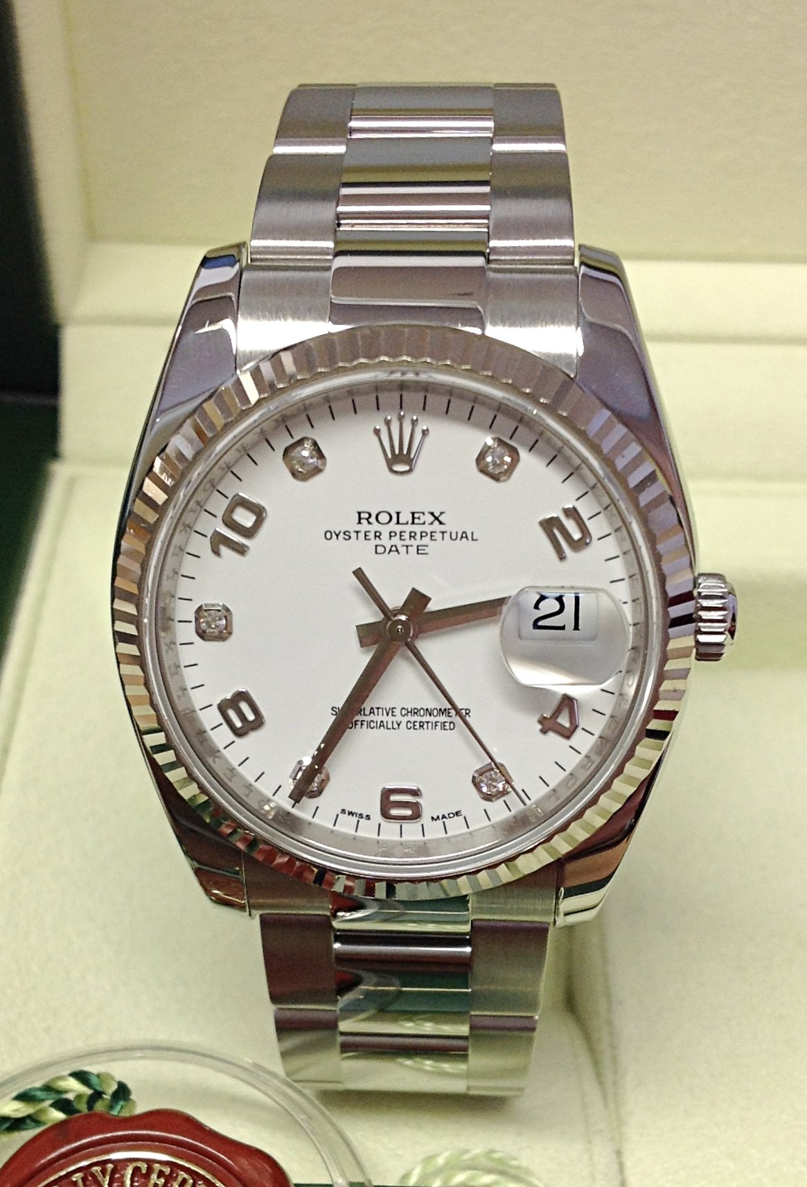 Rolex Oyster Perpetual Date 115234 34mm
