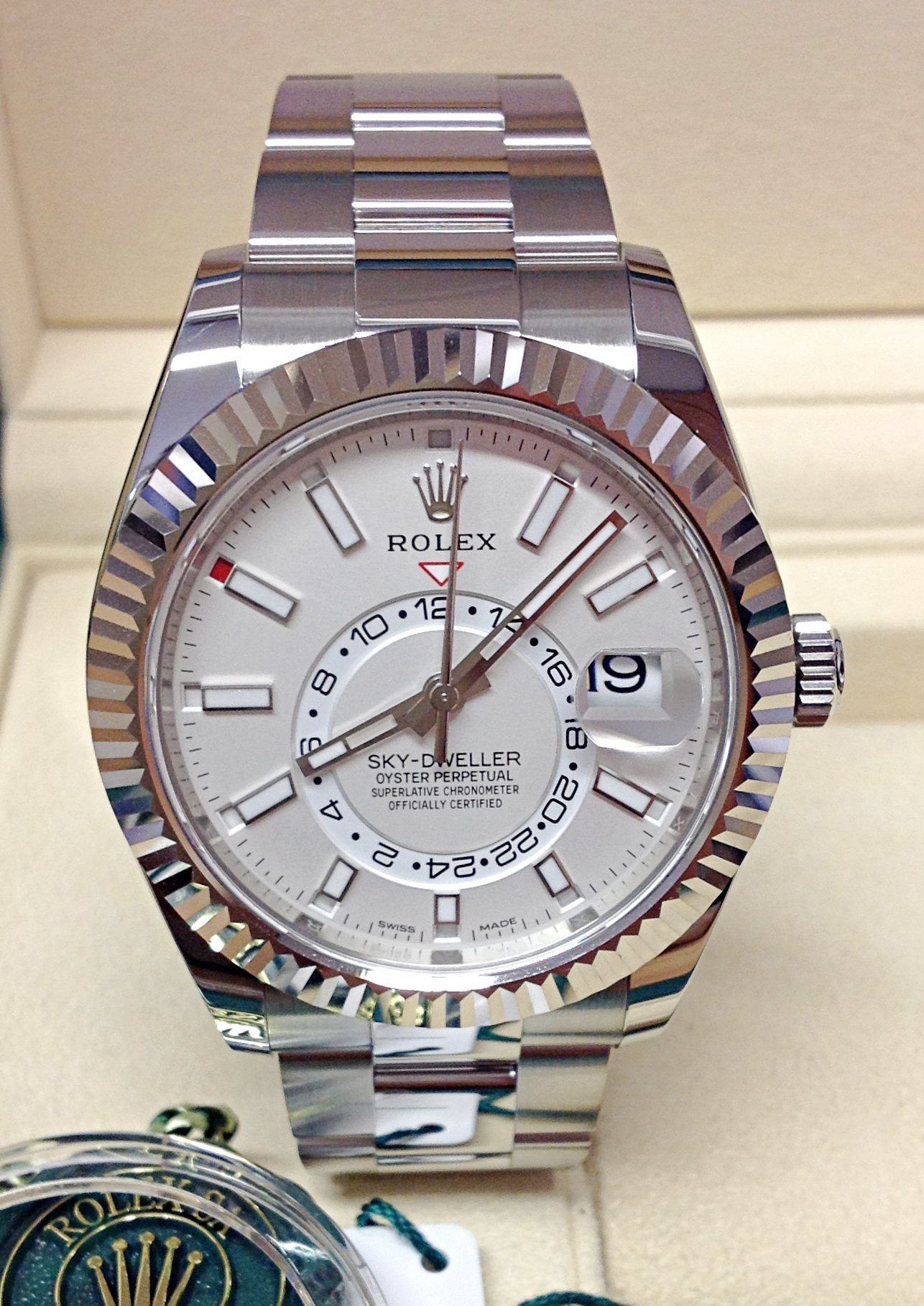 Rolex Sky,Dweller 326934 Stainless Steel