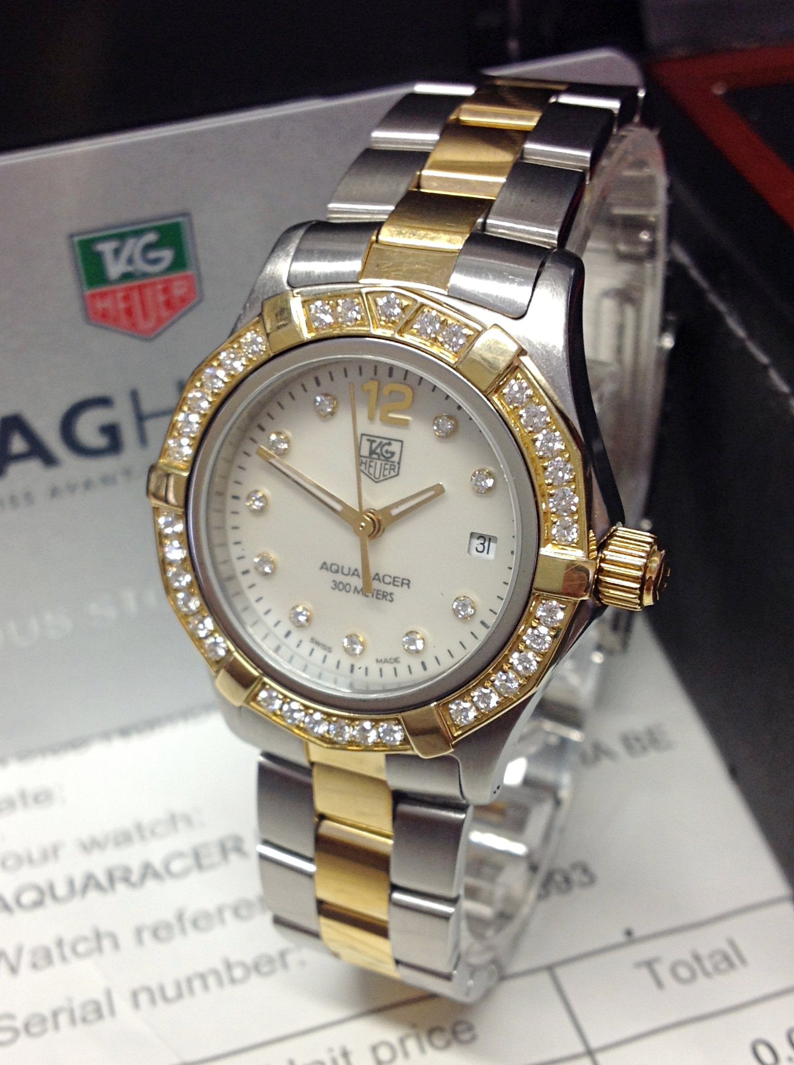 Tag Heuer Aquaracer WAF1450.BB0814 Ladies