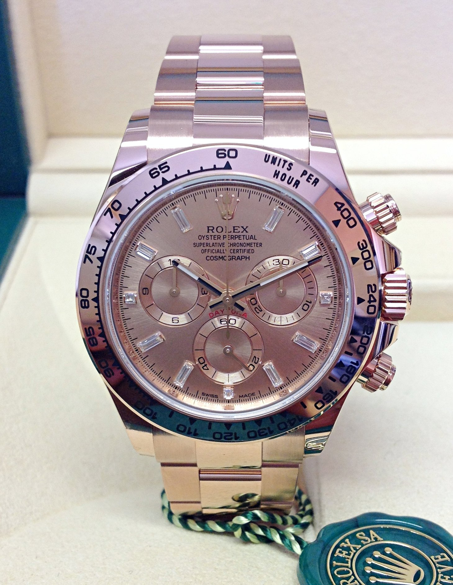 Rolex Daytona 116505 Rose Gold Unworn