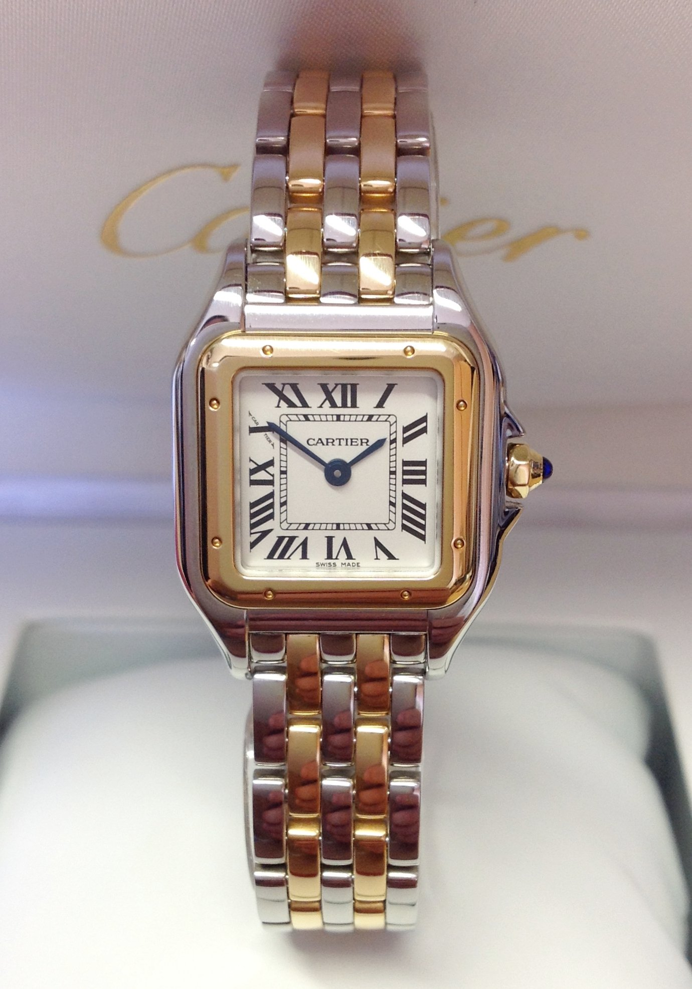 Cartier Panthere W2PN0006 Small Bi/Colour Unworn