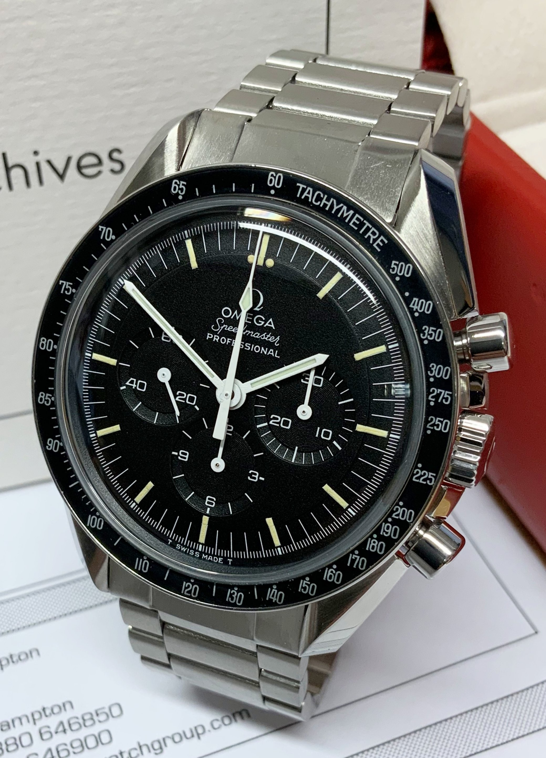 Omega Speedmaster Moonwatch ST 145.022-69 From 1971