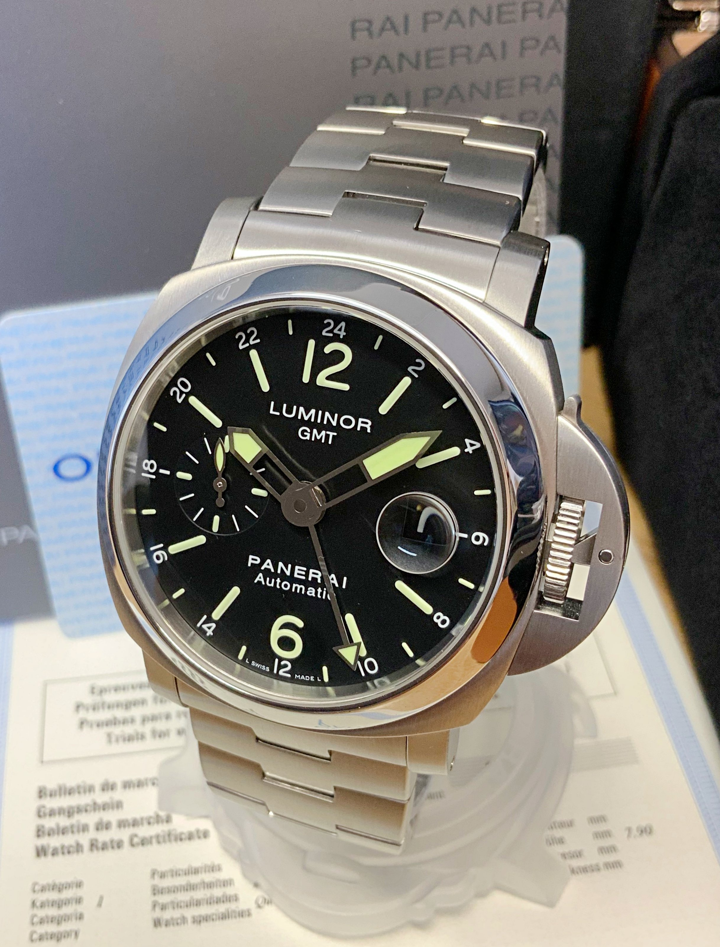 Panerai Luminor GMT 44mm PAM00297