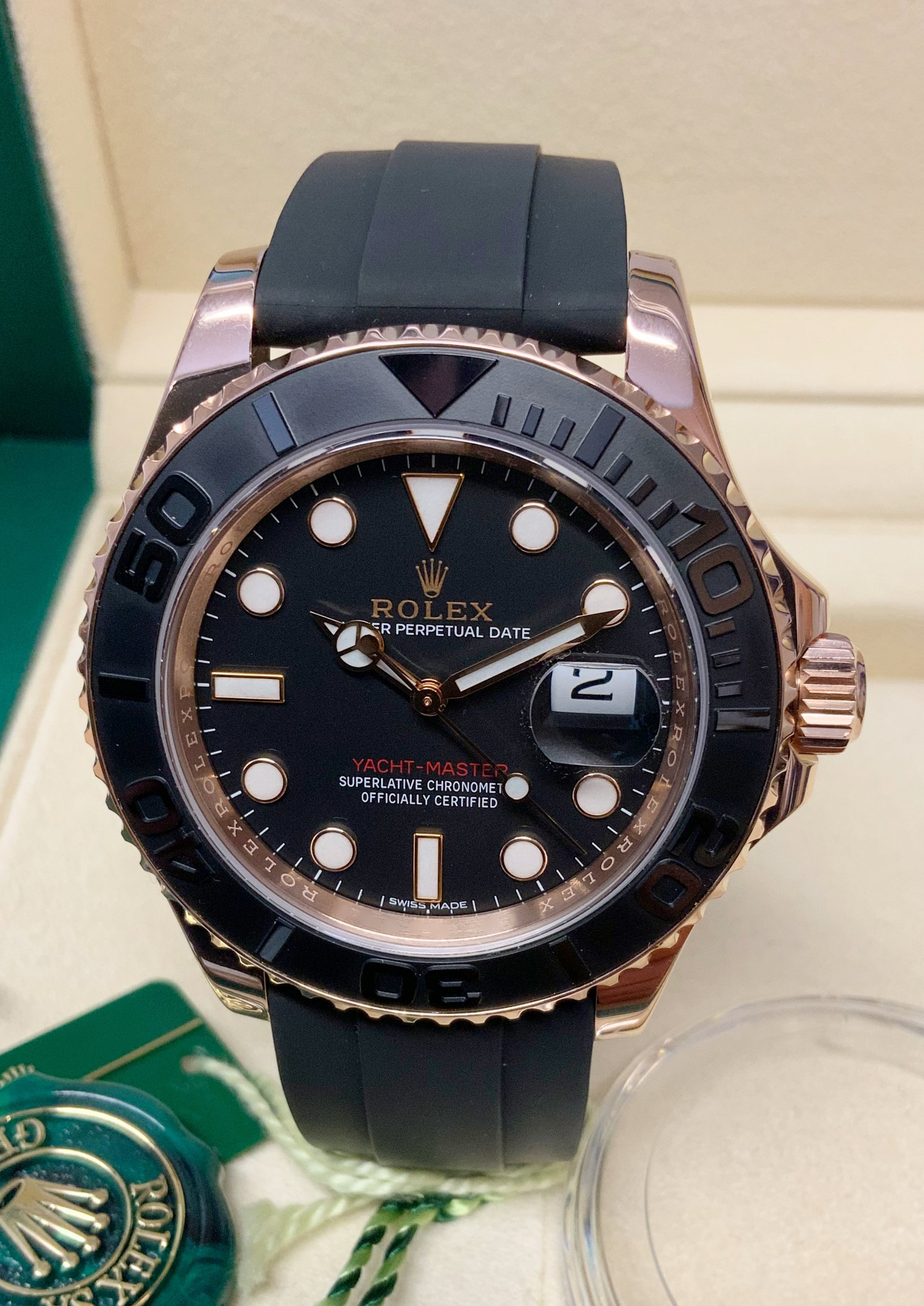 Rolex Yacht-Master 40 116655 Rose Gold